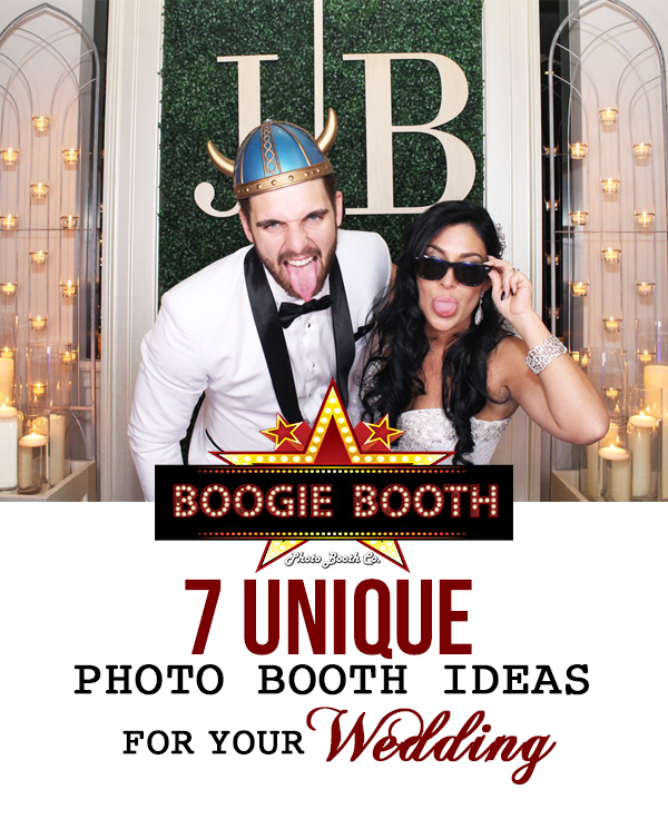 7 Unique Photo Booth Ideas for Your Wedding | Boogie Booth